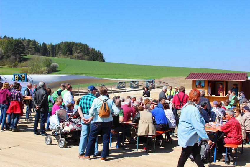 Mehr als 1000 Besucher bei Windparkfest am 8.4.2017