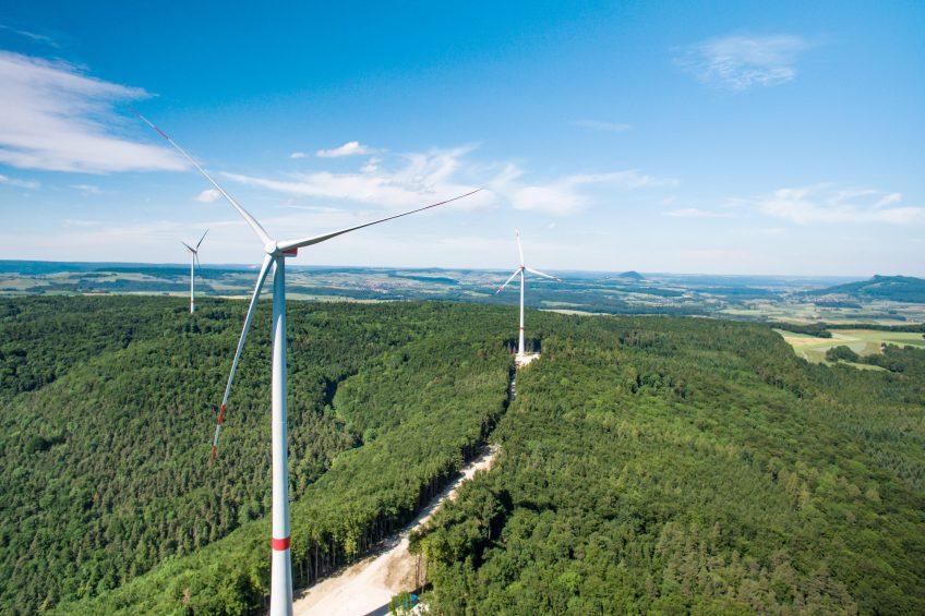 Wiechs feiert Einweihung des Windparks Verenafohren