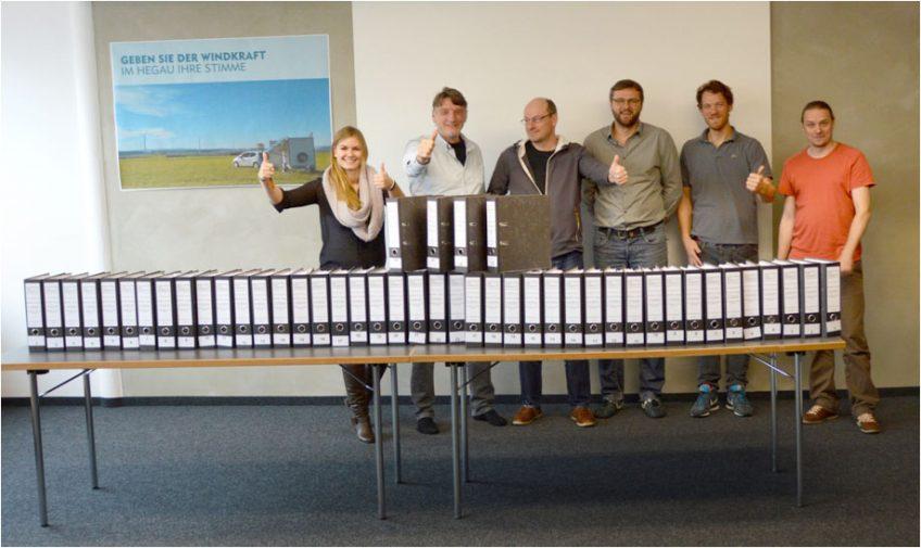 Bauantrag Windpark Verenafohren