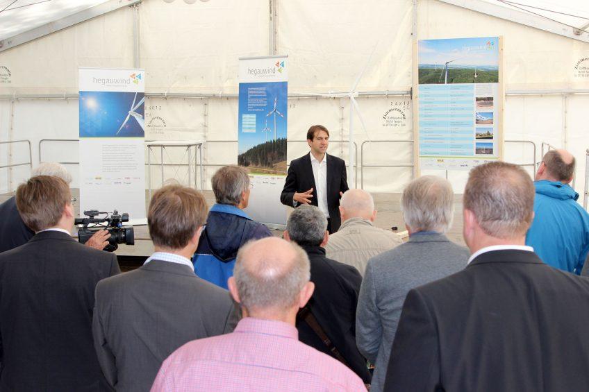 Windpark Verenafohren nimmt offiziell seinen Betrieb auf